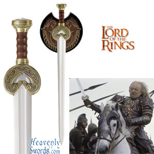 Herugrim - Sword of King Theoden Lord of the Rings LOTR 36 1/2""