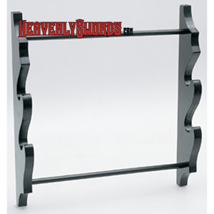 Two-Sword Wall Display Stand