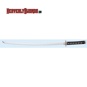 Samurai Sword with Mini Tanto - Black