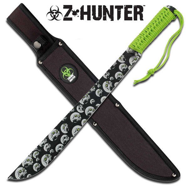 18 in Full Tang ZOMBIE HUNTER Machete