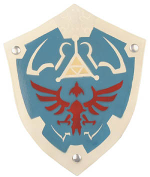 Legend of Zelda- Link's Wooden Shield ZX