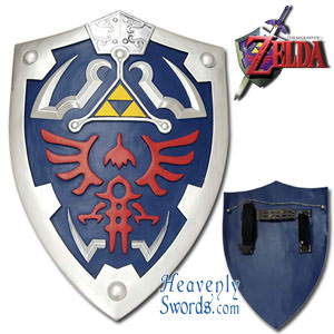 Candas (enchanted elven blade)) Zelda-shield