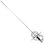 Musketeer Rapier Sword with Scabbard 44""