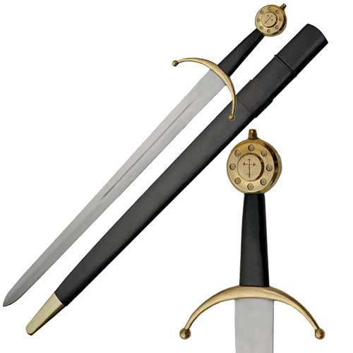 Edward III Medieval Sword 33 1/2&quot;