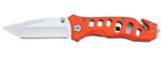 Rostfrei Liner Lock Knife Orange 8 1/8""