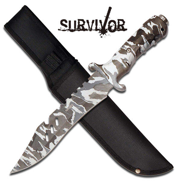 12 in SURVIVOR combat knife HK730DW