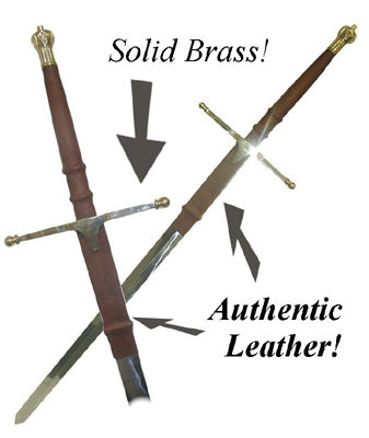 William Wallace - Braveheart Steel Sword 52""