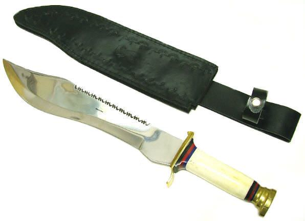 17in Ranger Hunting Knife Bone Handle K37RB