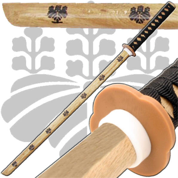 Toyotomi Natural Wooden Practice Sword