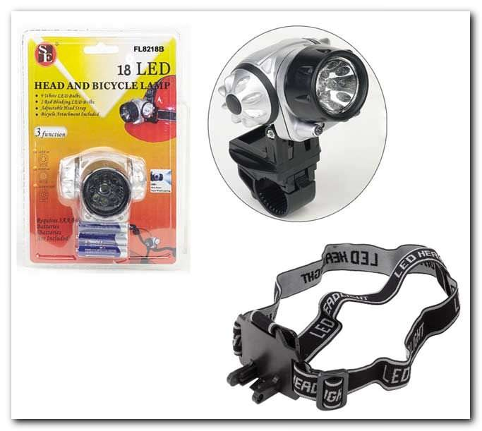 18 Bulb Led Head Lamp FL8218