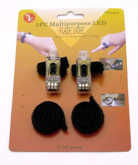 2- 2pc Super Bright LED Finger lights FL3042
