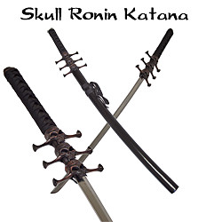 Black Skull Ronin Pirate Katana - Tom Anderson 41&quot;