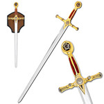 Free Mason Sword with Plaque 45 1/4""