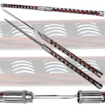 Twin Blade Baton Short Sword - 33""