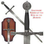 "Whetstone Legendary Sword of the King of the Britons 45 1/4"" & Display"