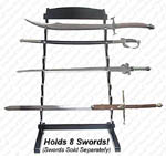 8 Piece Sword Stand - Free Standing