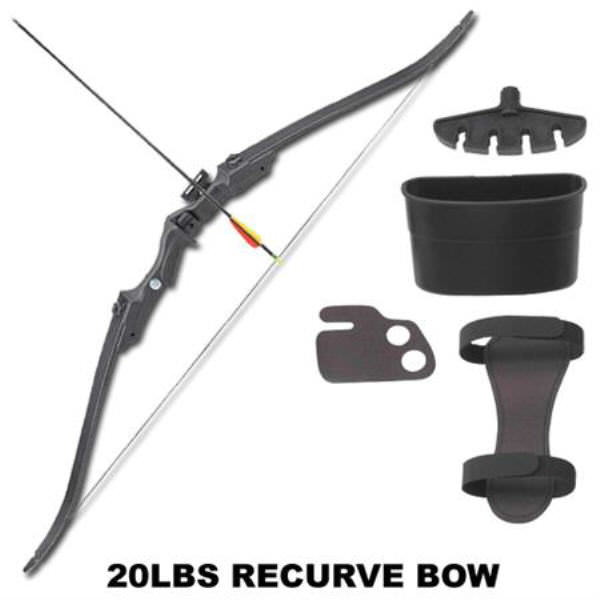 20 Pound Recurve Training Bow Set MKRB007B