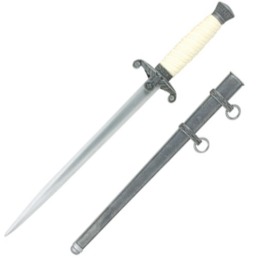 Wehrmacht Officer's Dagger Antique gray finish