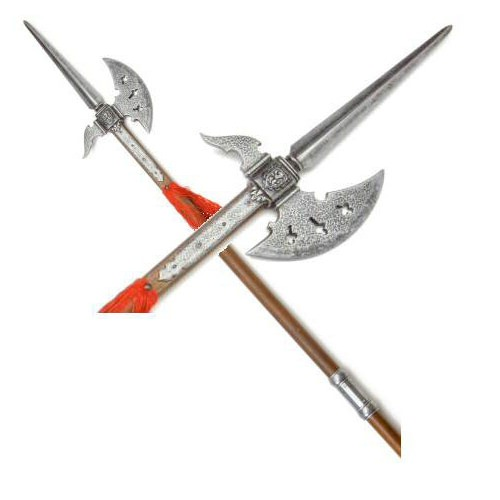 Halberd Swiss 17TH Century 75""