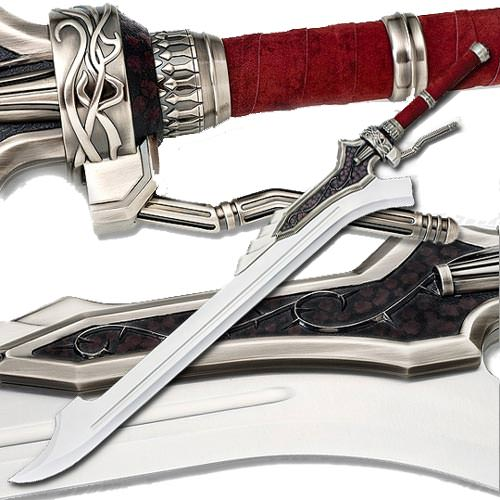 Devil May Cry Video Game Replica -Red Queen Sword of Nero