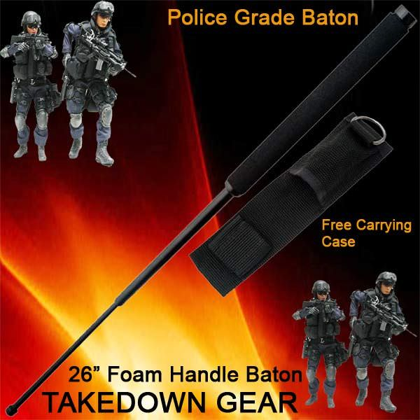 26 in Police Baton Telescoping NS26FM