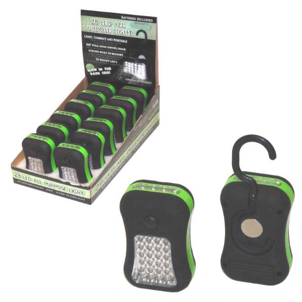 28 LED Work Light Magnetic DB12-28GLOW