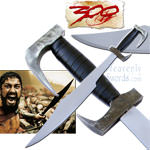 300 - Spartan Warrior Sword, Steel 29&quot;