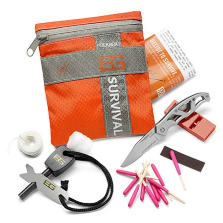Bear Grylls Gerber Basic 8 piece Survival Kit 