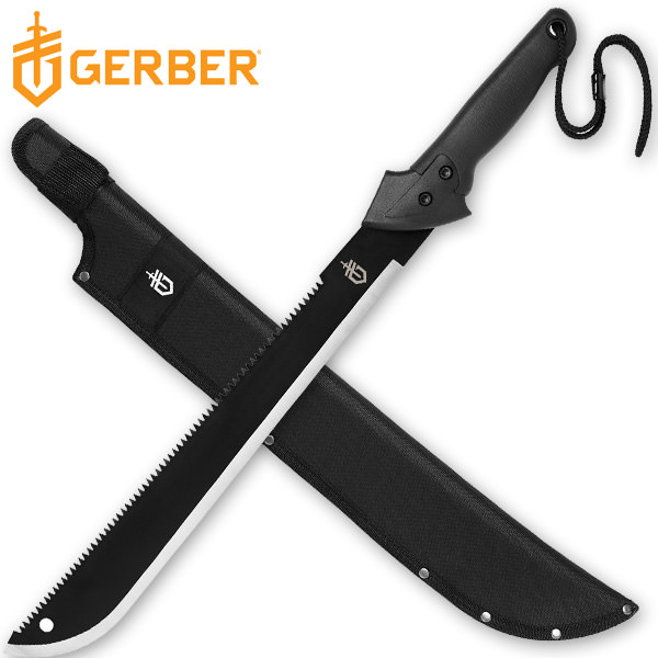 GERBER Gator Machete Saw Back
