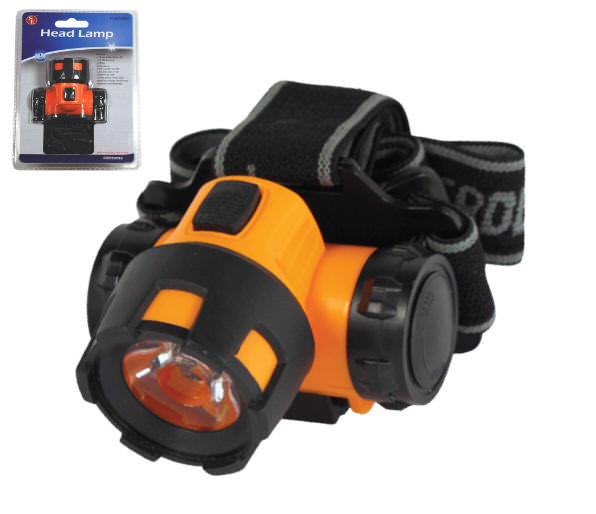 3 Watt Super Bright Headlamp FL8204BO