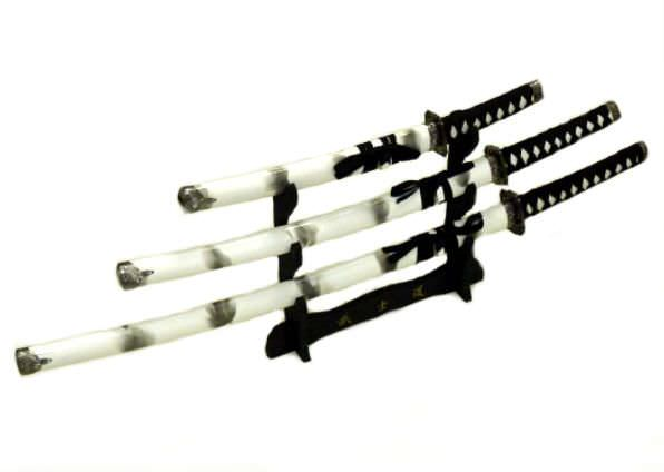 3pc Set Samurai Sword Set K0021-4C003