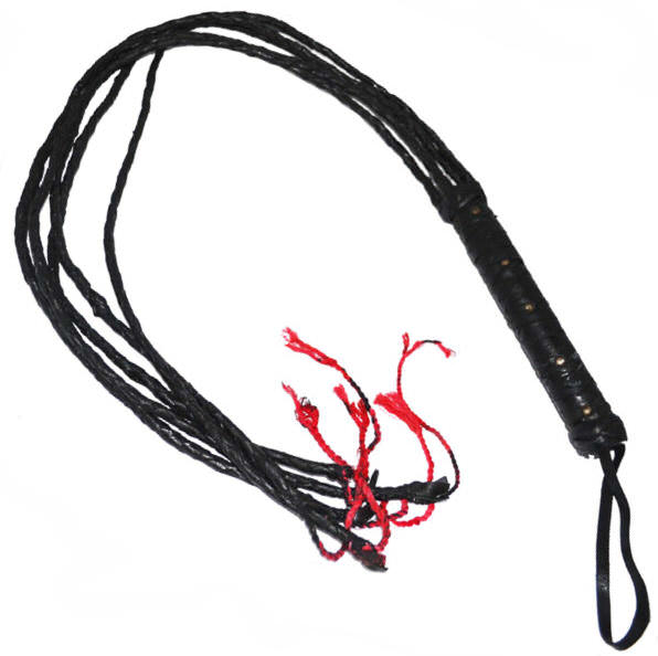 46 in Real Leather Whip/ Cat of Tails 1CATL