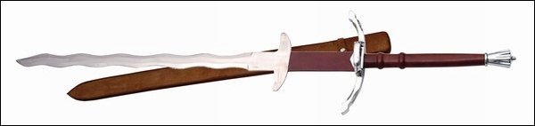 50in Flamberge Sword 901097