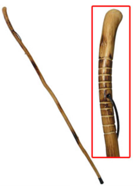 55 in Root Head Hardwood Walking Stick WS631-52RH