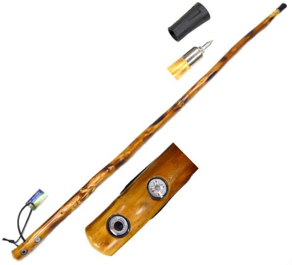 55in Walking Stick Compass & Thermometer WS625-55CT