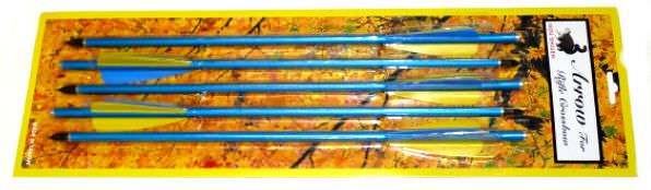 5 - Aluminum Cross Bow Arrows AZ145GP