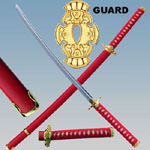 Ninja Gaiden Katana Sword Red 41""