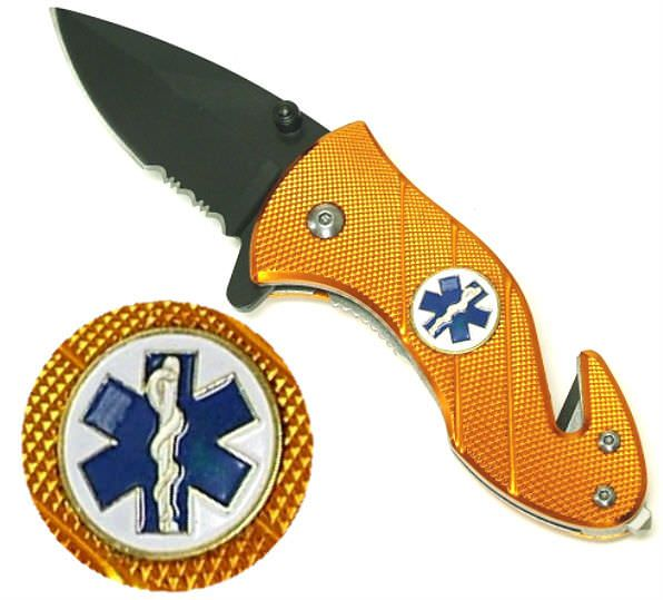 6in AO EMS Rescue Knife YC83670SOR