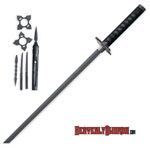 Eight Piece Ninja Warrior Sword