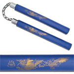 Foam Padded Dragon Nunchaku Karate Practice 13&quot;