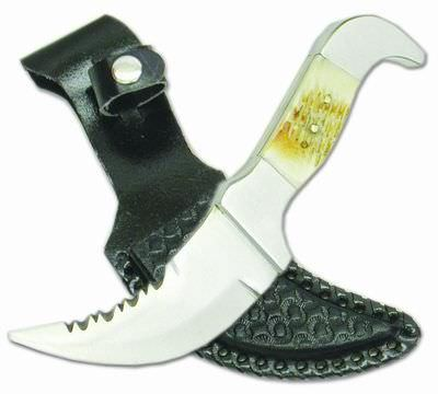 8 in Bone Handle Hunting Knife HK352BN