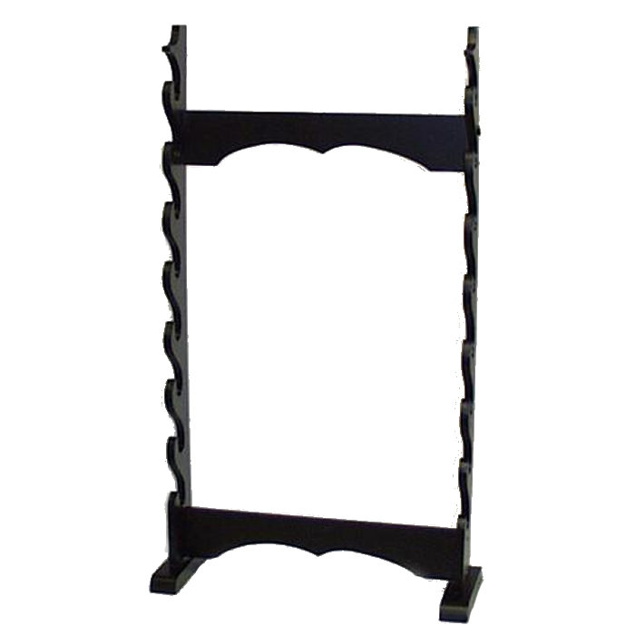 8pc Floor Stand Black