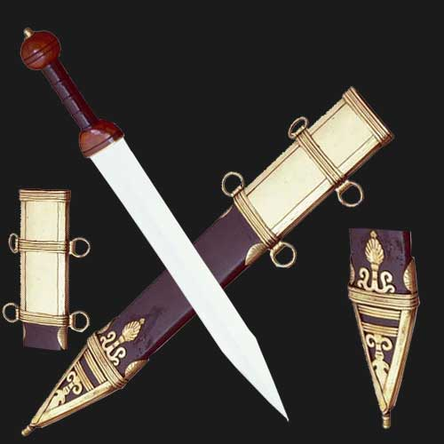 Hand Made Gladius Sword 27""