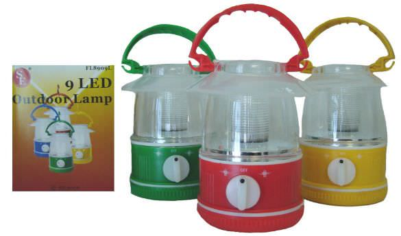 9 Bulb Led Outdoor Lantern FL8909L