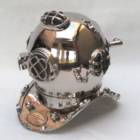 Aluminum Diver's Helmet, Mark V (Five)