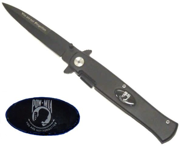 AO 9in POW - MIA Stiletto PO69BK