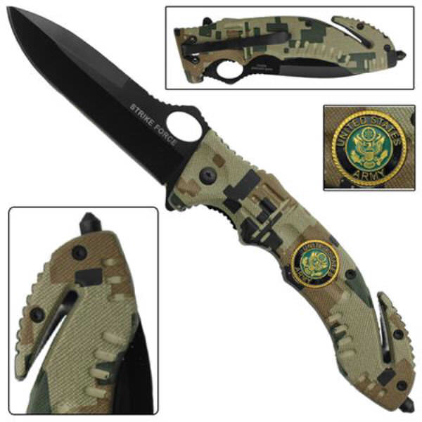 AO ARMY Rescue Knife WG917
