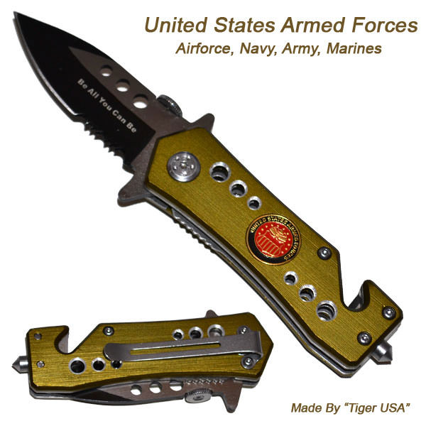 AO Armed Forces Rescue Knife K104