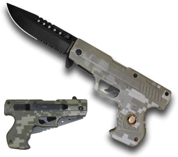 AO Camo Pistol Handle Knife PK016510PCA