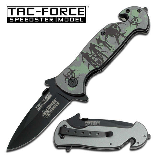 AO ZOMBIE HUNTER Rescue Knife TF799GH